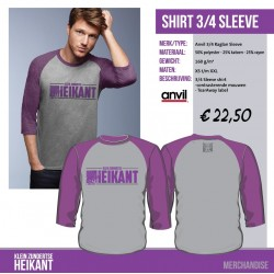 Shirt 3/4 sleeve